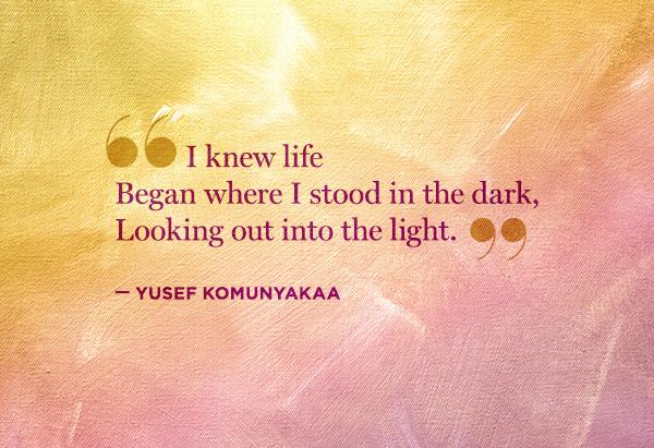 Yusef Komunyakaa's quote