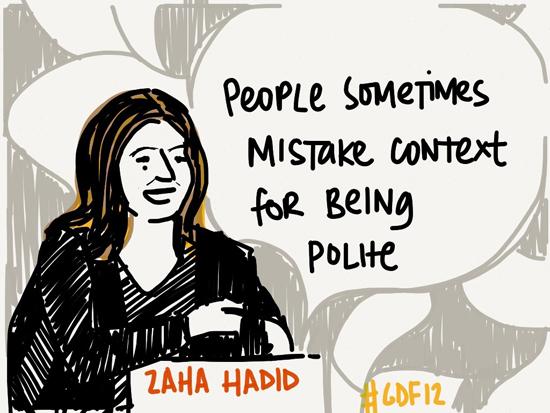 Zaha Hadid's quote #7