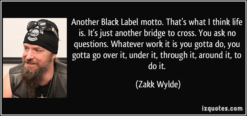 Zakk Wylde's quote