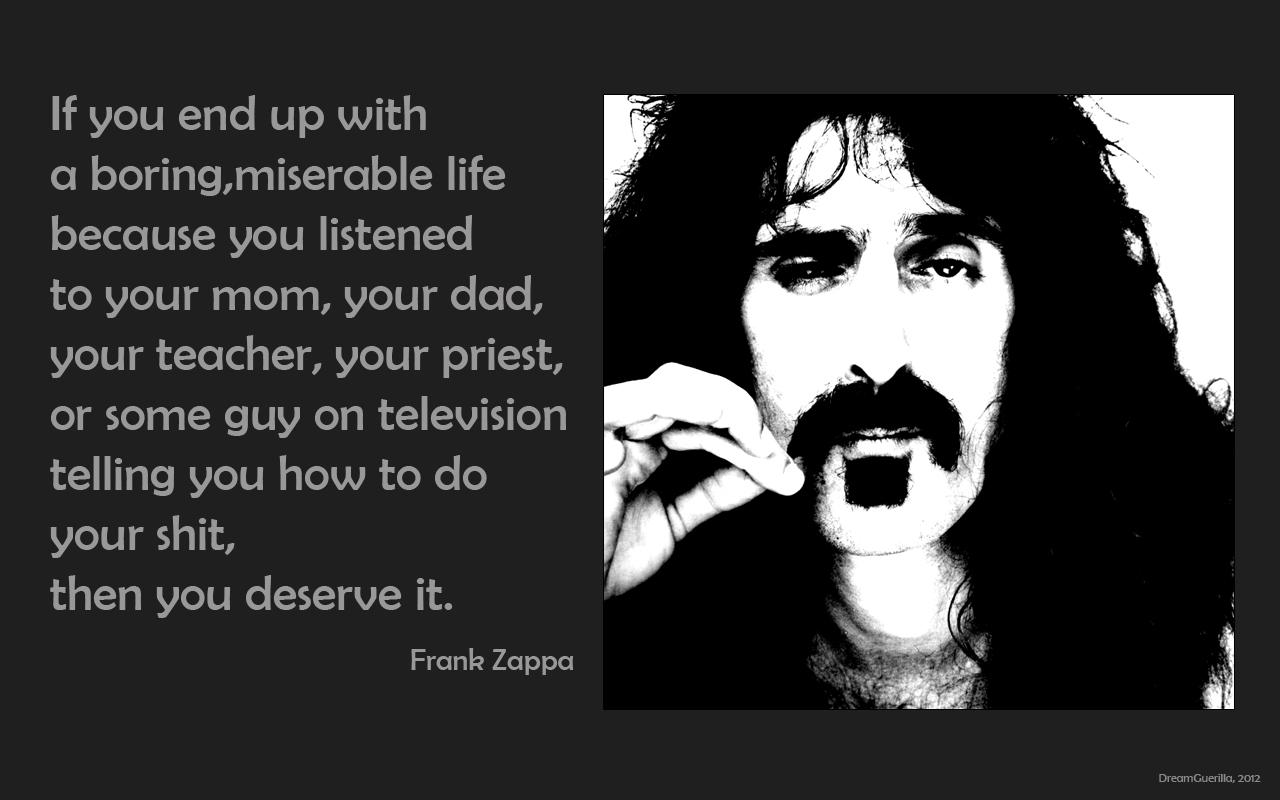 Zappa quote