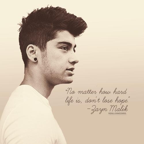 Zayn Malik's quote