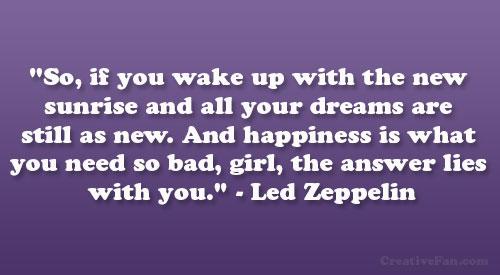 Zeppelin quote #1