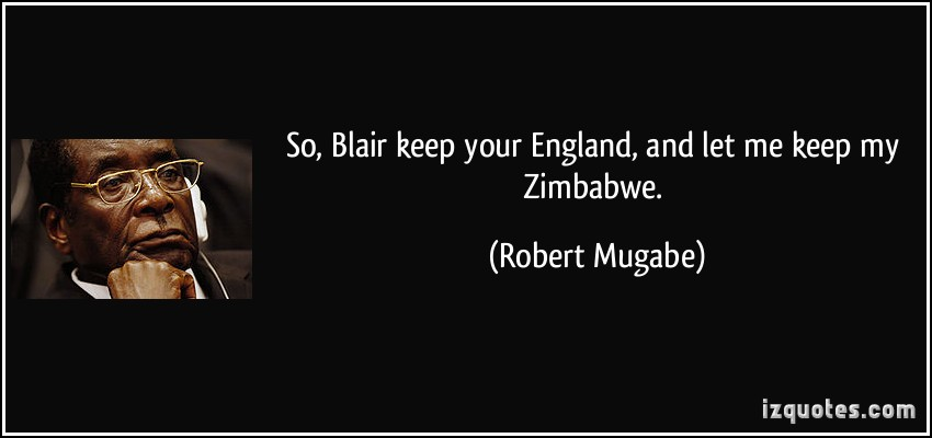 Zimbabwe quote #1