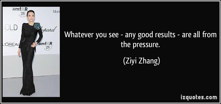 Ziyi Zhang's quote #3
