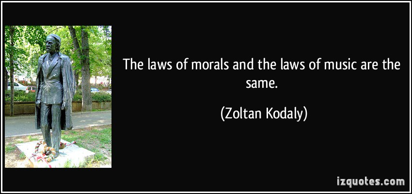 Zoltan Kodaly's quote #3
