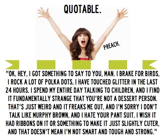 Zooey Deschanel's quote #4
