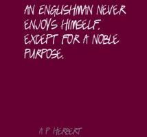 A. P. Herbert's quote