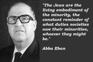 Abba Eban's quote