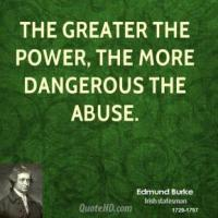 Abuse Of Power quote #2