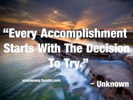 Accomplishment quote #2