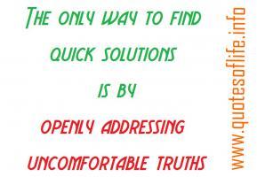 Addressing quote #1