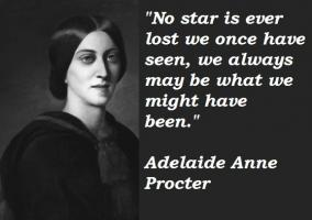 Adelaide Anne Procter's quote