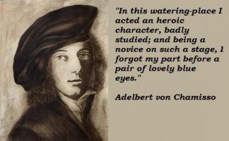 Adelbert von Chamisso's quote #7