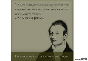 Adoniram Judson's quote #1