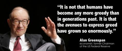 Alan Greenspan's quote