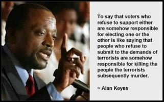Alan Keyes's quote