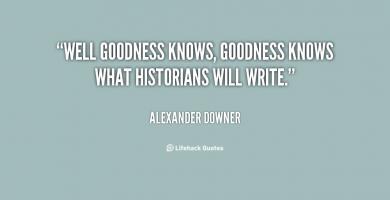 Alexander Downer's quote