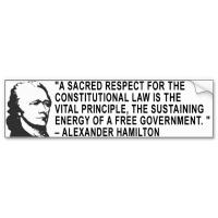 Alexander Hamilton's quote