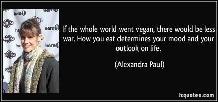 Alexandra Paul's quote