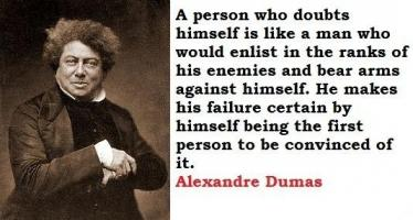Alexandre Dumas's quote