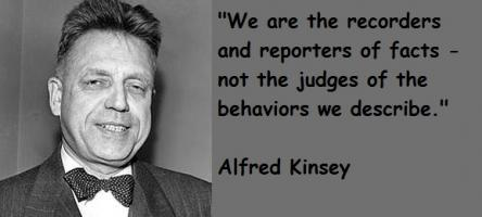 Alfred Kinsey's quote