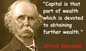 Alfred Marshall's quote