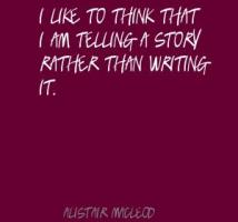 Alistair MacLeod's quote #2