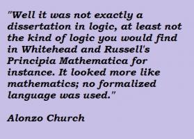 Alonzo Church's quote #2