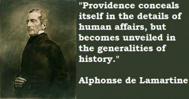 Alphonse de Lamartine's quote