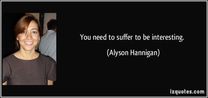 Alyson Hannigan's quote