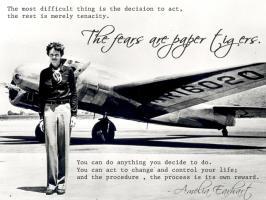 Amelia Earhart's quote