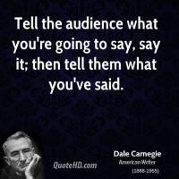 American Audiences quote #2