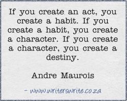 Andre Maurois's quote