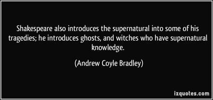 Andrew Coyle Bradley's quote