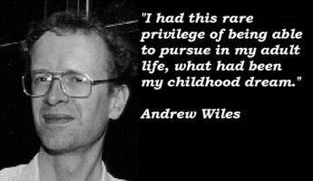 Andrew Wiles's quote