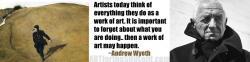 Andrew Wyeth's quote