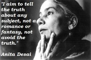 Anita Desai's quote