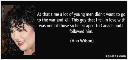 Ann Wilson's quote
