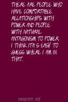 Antagonism quote #1