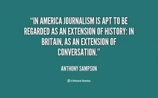 Anthony Sampson's quote
