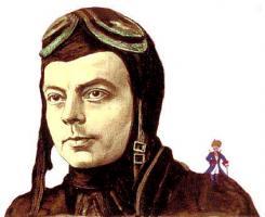 Antoine de Saint-Exupery profile photo