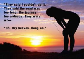 Arduous quote #1