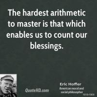 Arithmetic quote #2