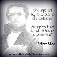 Arthur Ashe's quote