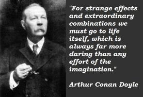 Arthur Conan Doyle's quote