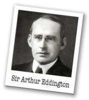 Arthur Eddington's quote