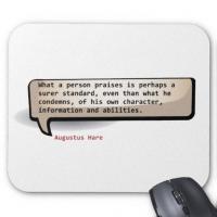 Augustus Hare's quote
