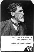 Augustus Saint-Gaudens's quote
