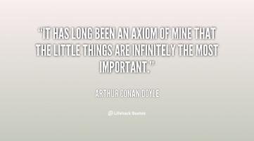Axiom quote #1