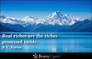 B. C. Forbes's quote